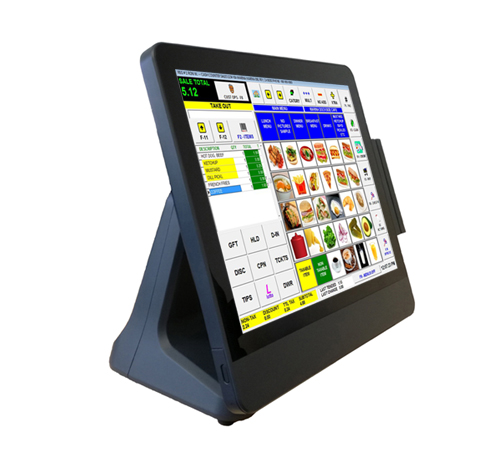 "EUROTOUCH EA-1715 - Capacitive Touch 15"" monitor + MSR"