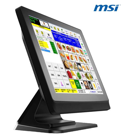 "MSI MS-9A51 - Flat panel 15"", D2550, 1,86 GHz Fanless 2GB RAM, 320 GB HDD,černá"